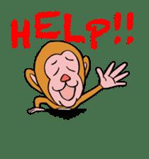 En-glish Monkey(enmon) sticker #1174995