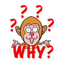 En-glish Monkey(enmon) sticker #1175001