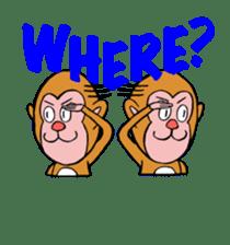 En-glish Monkey(enmon) sticker #1175002