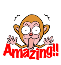 En-glish Monkey(enmon) sticker #1175007