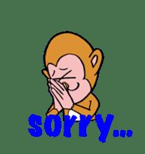 En-glish Monkey(enmon) sticker #1175008