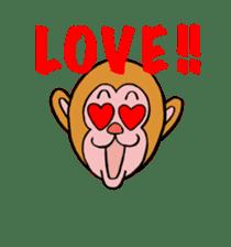 En-glish Monkey(enmon) sticker #1175011