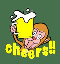 En-glish Monkey(enmon) sticker #1175016
