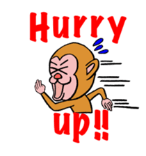 En-glish Monkey(enmon) sticker #1175018