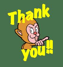 En-glish Monkey(enmon) sticker #1175024