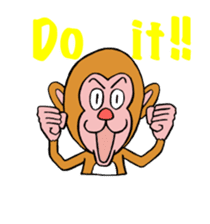 En-glish Monkey(enmon) sticker #1175025