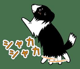 white pomeranian and puppies sticker #1175382
