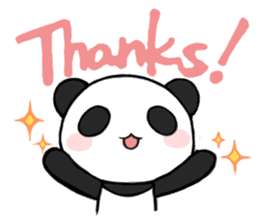 Kawaii Panda! sticker #1177147