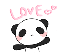 Kawaii Panda! sticker #1177151