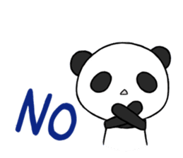 Kawaii Panda! sticker #1177180