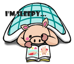 The everyday life of Pigtum sticker #1180485