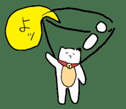 Sad cat sticker #1182201