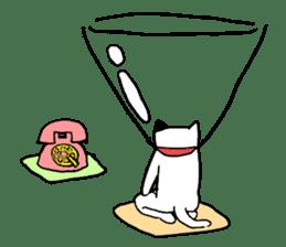 Sad cat sticker #1182208