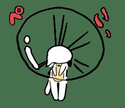 Sad cat sticker #1182210