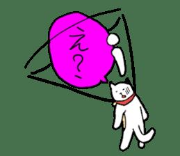 Sad cat sticker #1182214