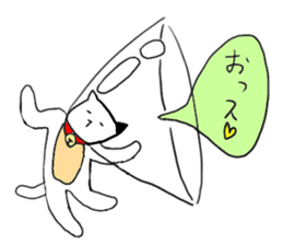 Sad cat sticker #1182221