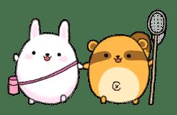 marumaruusamaru sticker #1182669