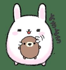 marumaruusamaru sticker #1182679