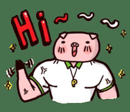 Pinky Trainer sticker #1182786
