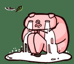Pinky Trainer sticker #1182799
