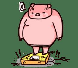 Pinky Trainer sticker #1182801