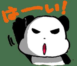 YASAGURE Panda Vol.2 sticker #1183706