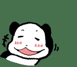 YASAGURE Panda Vol.2 sticker #1183714