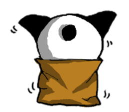 YASAGURE Panda Vol.2 sticker #1183718