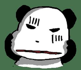 YASAGURE Panda Vol.2 sticker #1183723