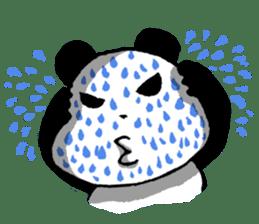 YASAGURE Panda Vol.2 sticker #1183740