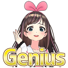 Kizuna AI สติกเกอร์พูดได้ 2