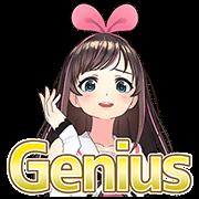 สติ๊กเกอร์ไลน์ Kizuna AI สติกเกอร์พูดได้ 2