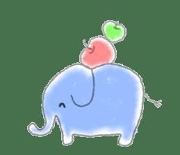 Cute animals sticker #1184066