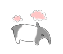 Cute animals sticker #1184077
