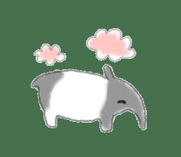 Cute animals sticker #1184077