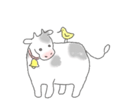 Cute animals sticker #1184084
