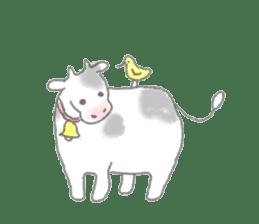 Cute animals sticker #1184084