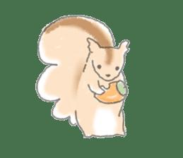 Cute animals sticker #1184087