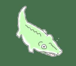 Cute animals sticker #1184096