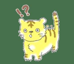 Cute animals sticker #1184098