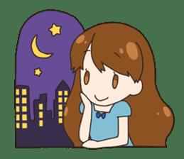 HUWA Girl sticker #1184470