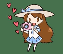 HUWA Girl sticker #1184471