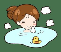 HUWA Girl sticker #1184490