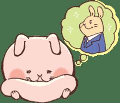Women force rabbit sticker #1184832