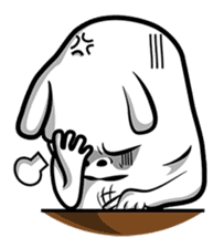 Taohoo The Rabbit sticker #1185073