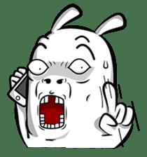 Taohoo The Rabbit sticker #1185093