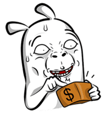 Taohoo The Rabbit sticker #1185104