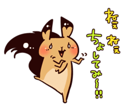 Hokkaido's risu2 sticker #1185159