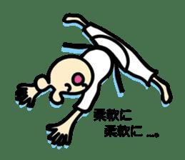usainu (rabbit dog) : KARATE LOVE sticker #1185237