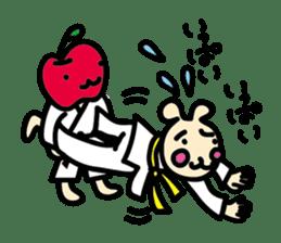 usainu (rabbit dog) : KARATE LOVE sticker #1185244